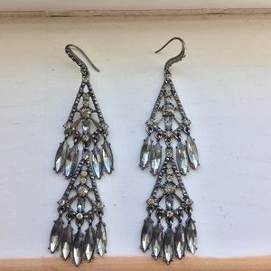 Jewelry - Gorgeous tiered statement earrings